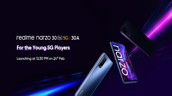 Realme Narzo 30 Pro 5G Launch Date Officially Confirmed