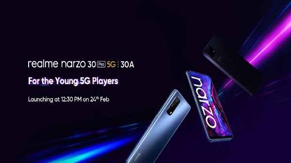 Realme Narzo 30 Pro 5G, Narzo 30A Launching Today: How And Where To Watch Livestream