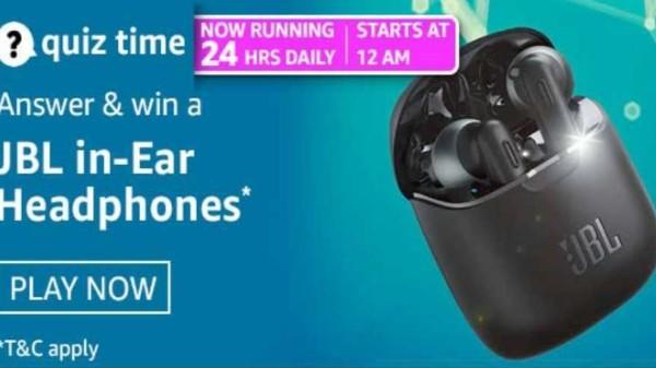 Amazon Quiz Answers For March 2, 2021: Win JBL In-Ear Headphones