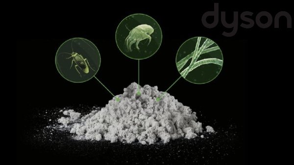 Dyson Dust Challenge Study Reveals The Dirty Truth
