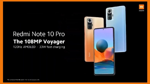 Redmi Note 10 Pro Complete Specifications Leaked
