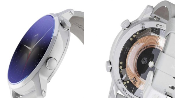 Motorola Moto Watch Tipped With Snapdragon Wear 4100 Chip, Wireless Charging Support