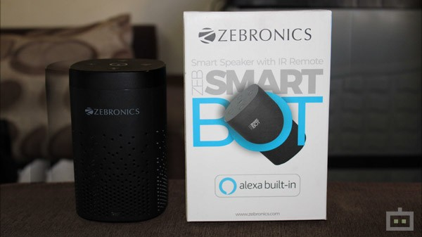 Zebronics Smart Bot Review: A Unique Smart Speaker With IR Blaster