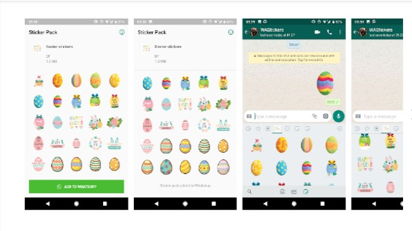 How To Create, Send Easter Stickers On WhatsApp