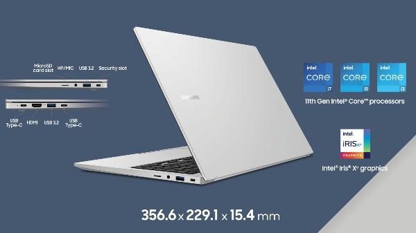 Samsung Galaxy Book, Galaxy Book Pro Laptops Officially Announced