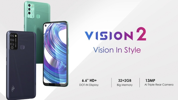 Itel Vision 2 Launched In India