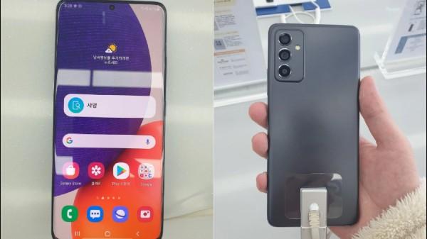 Samsung Galaxy Quantum 2 Aka Galaxy A82 5G Live Shots, Specs Leak