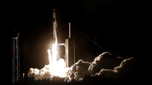 SpaceX Falon 9 Rocket Carries Four Astronauts To ISS Successfully