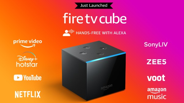 Amazon Fire TV Cube With Hands-Free Alexa Support Announced In India
