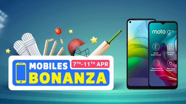 Flipkart Mobile Bonanza Sale 2021: Best Offer and Discounts On Motorola G 5G, Motorola G9 Power, And More