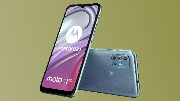 Moto G20 Renders, Specifications Out Hinting Imminent Launch