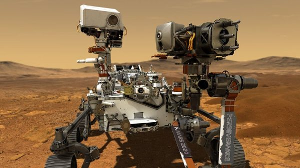 NASA's Perseverance Creates Oxygen On Mars For The First Time