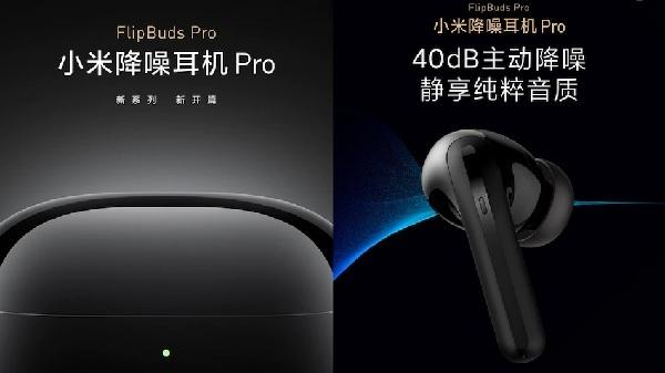 Xiaomi FlipBuds Pro With Noise Reduction Launching Tomorrow