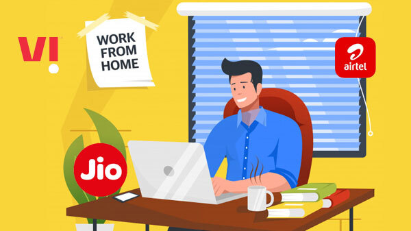 Airtel, Jio, And Vi Postpaid Plans For Work From Home