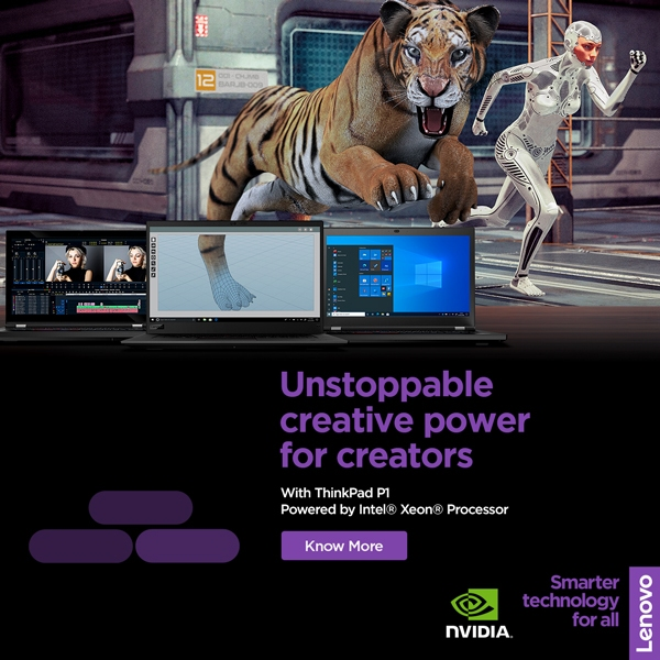 Lenovo Mobile Workstation Brings You Unstoppable Creativity