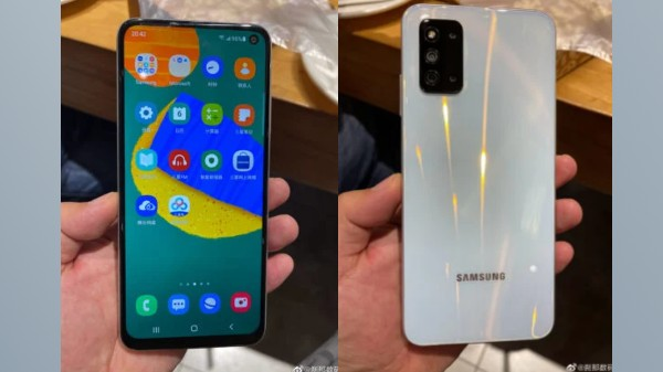 Samsung Galaxy F52 5G Live Images Out