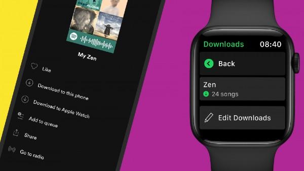 Spotify Rolls Out Offline Music Listening On Apple Watch