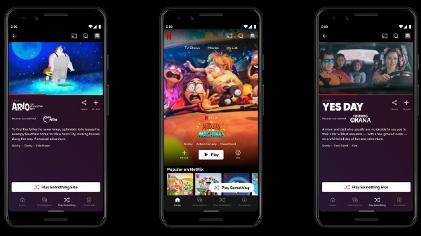 Netflix 'Play Something' Button Rolls Out To Android Devices