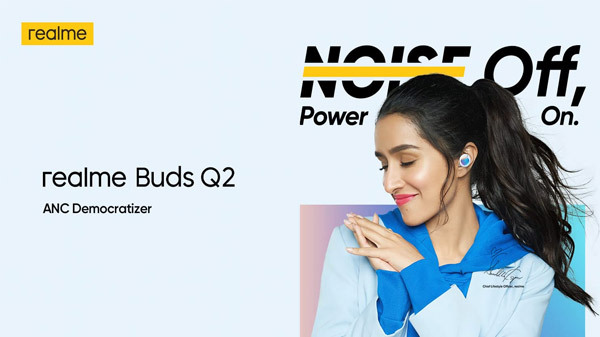Realme Buds Q2 With ANC India Launch Confirmed For June 24