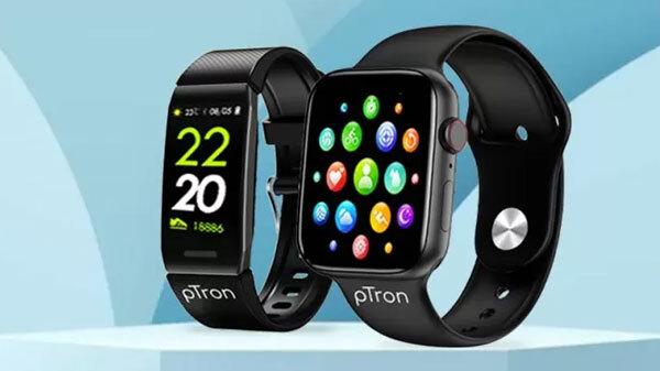 PTron Announces Pulsefit P261 Smartwatch And Pulsefit F121 Smartband