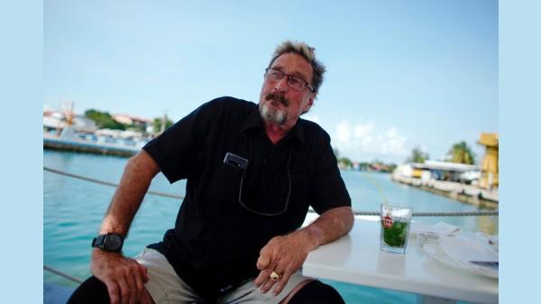 McAfee Antivirus Founder, John David McAfee Found Dead
