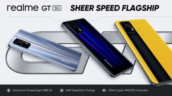 Realme GT 5G With Snapdragon 888 Officially Launched