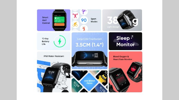Realme Watch 2, Watch 2 Pro Launched With SpO2 Sensor