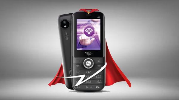 itel Announces Magic 2 4G Feature Phone In India