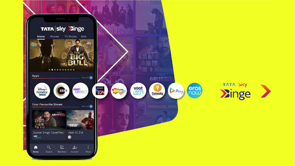 Tata Sky Launches Binge OTT Content Services For Smartphone Users
