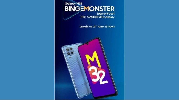 Samsung Galaxy M32 With FHD+ sAMOLED Display Launching On June 21