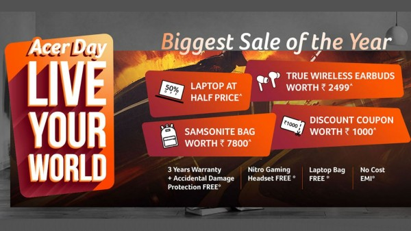 Acer Day 2021 Announced: Offers Fantastic Deals On Laptop