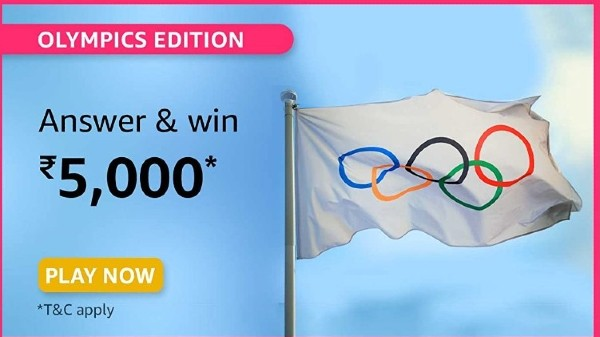 Amazon Olympics Edition Quiz Answers: Win Rs. 5,000 Prize