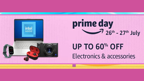 Amazon Prime Day Sale: Up To 60% Off On Electronics And Accessories thumbnail