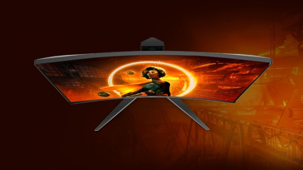 AOC C32G2E Curved Gaming Monitor With HDR, 165Hz Refresh Rate Launched