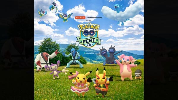 Pokémon GO Fest 2021 Is Here; Fest Date, Time, Other Details