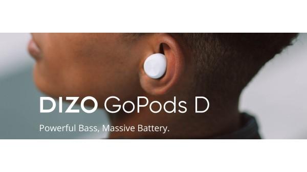 Realme Dizo GoPods D, Dizo Wireless Audio Accessories Announced