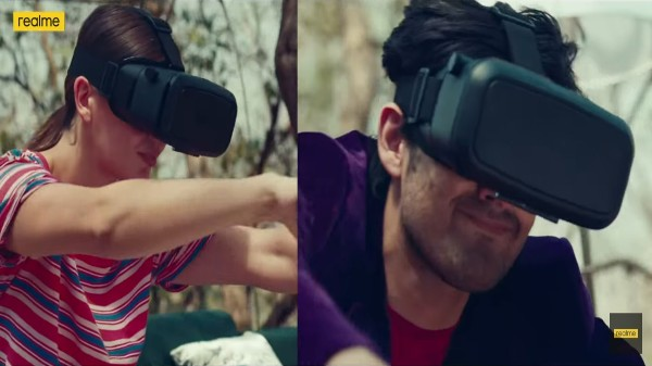 Realme VR Headset Spotted On Realme Watch 2 Promo