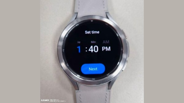 Samsung Galaxy Watch 4 Classic Live Images Leaked
