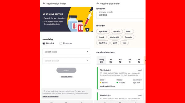 Vi Enables Users To Book Vaccine Slots Easily: Here's How To Book