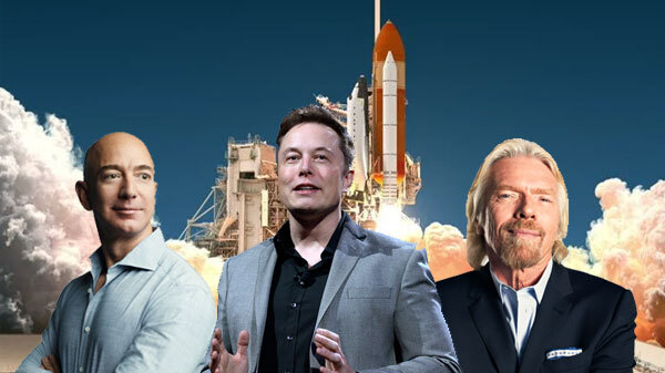 Billionaire Space Race Could Add Fuel To Global Climate Crisis