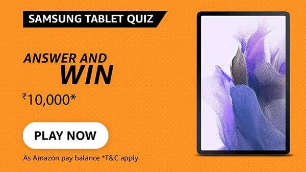 Amazon Samsung Tablet Quiz Answers