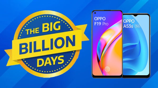 Flipkart Big Billion Days Sale 2021: Discount Offers On OPPO A53s 5G, OPPO A33, And More