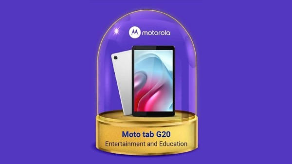 Moto Tab G20 India Launch Likely Set For September 30: Design, Specs L