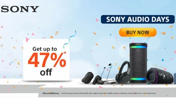 Sony Audio Days 2021: Massive Price Drops On Various Audio Products