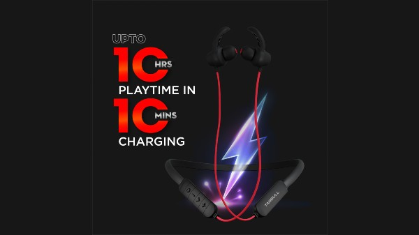 Tarbull MusicMate 550 Neckband Earphones With Preloaded Music Launched
