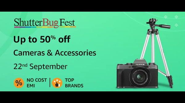 Amazon Shutterbug Fest Sale: Get Up To 50% Off On Mirrorless Cameras, Action Camera, And More