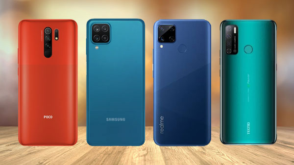 List Of Best Quad-Camera Smartphones Available Under Rs. 10,000