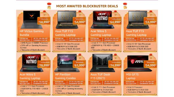 Amazon Great Indian Festival Sale 2021: Discount Offers On Best Gaming Laptops