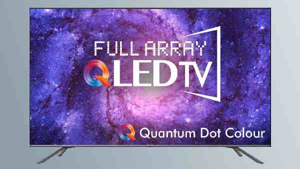 Hisense Launches New Full-Array QLED TVs Starting From Rs. 59,990