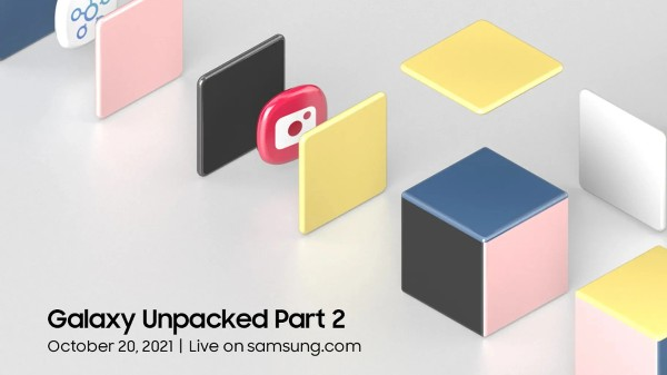 Samsung Galaxy Unpacked Part 2 Event Set For October 20